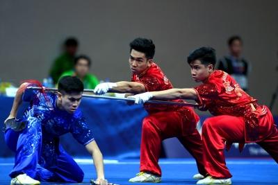 Wushu Indonesia Kembali Raih Emas di SEA Games 2019