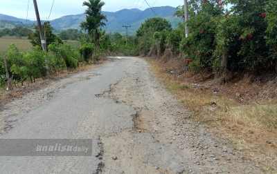 Infrastruktur Desa-Desa Terisolir di Karo Rusak