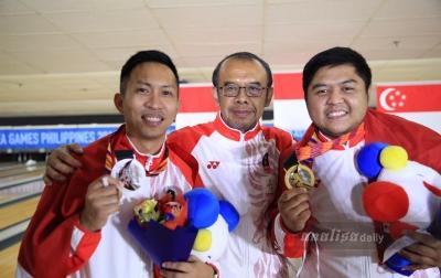 Indonesia Rajai Boling SEA Games 2019