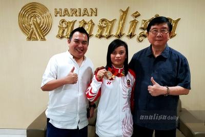 Kunjungi Master Supandi, Peraih Medali SEA Games Dapat Pengalaman Berharga