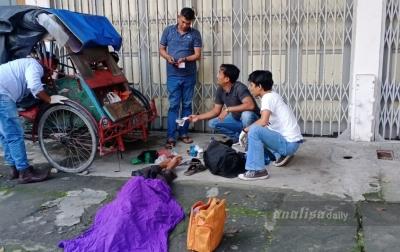 Penarik Becak Ditemukan Tewas di Jalan Asia