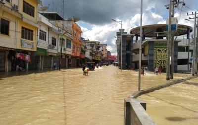 Dua Sungai Meluap di Tebing Tinggi, 2.350 KK Mengungsi