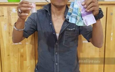 Jual Sabu, Napi Kabur Kembali Ditangkap Polisi