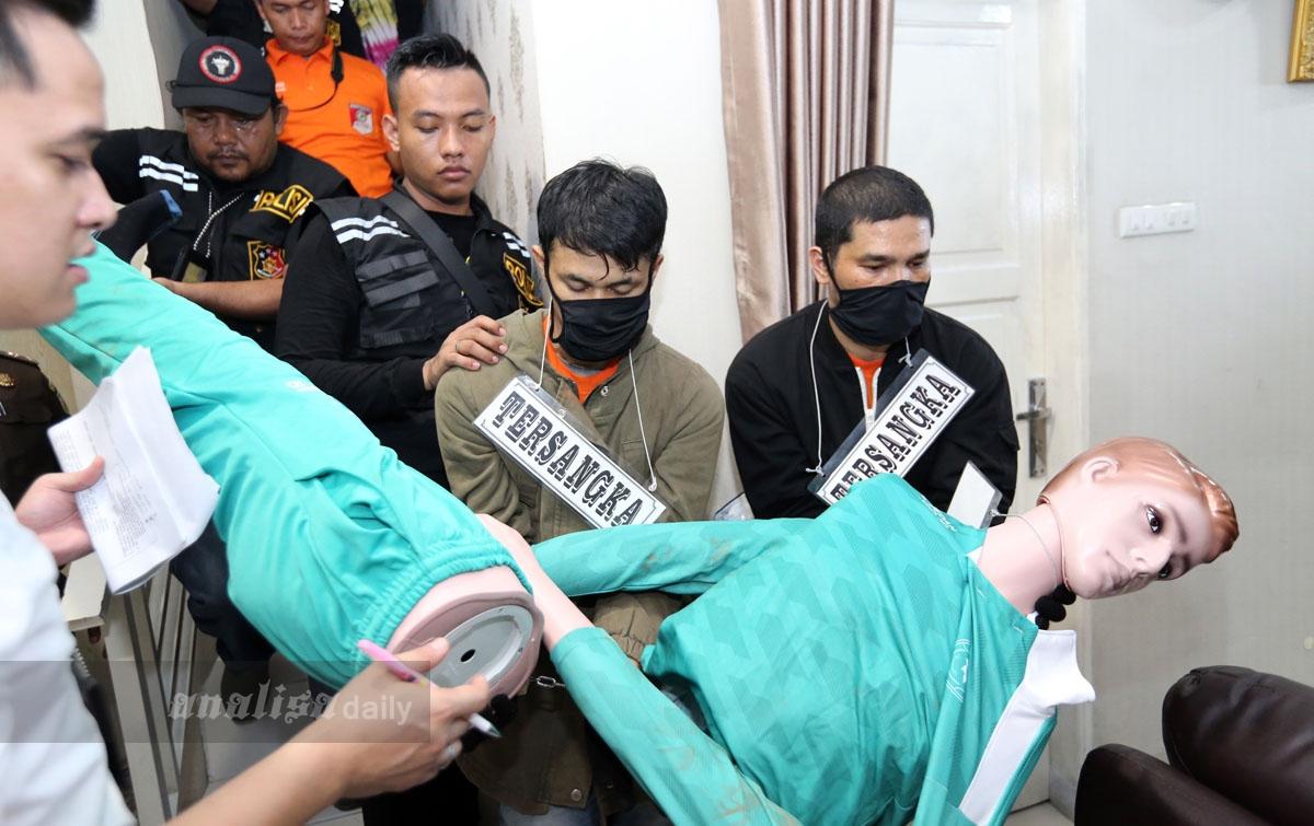 Foto: Rekonstruksi Pembunuhan Hakim Jamaluddin Tahap Dua