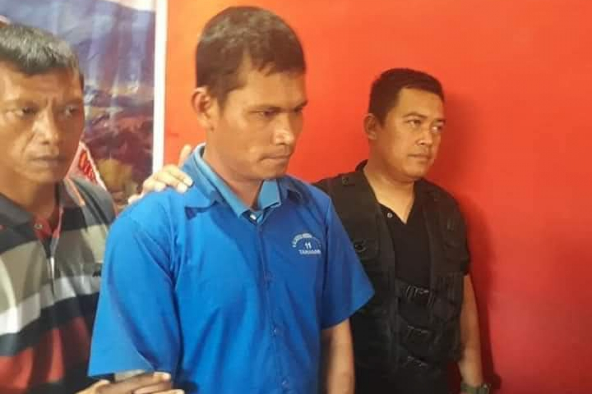 Pelaku Penusukan di Medan Labuhan Menyerahkan Diri