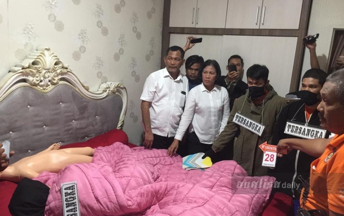 Pembunuhan Hakim Jamaluddin, Polisi Lakukan Rekonstruksi Tahap III