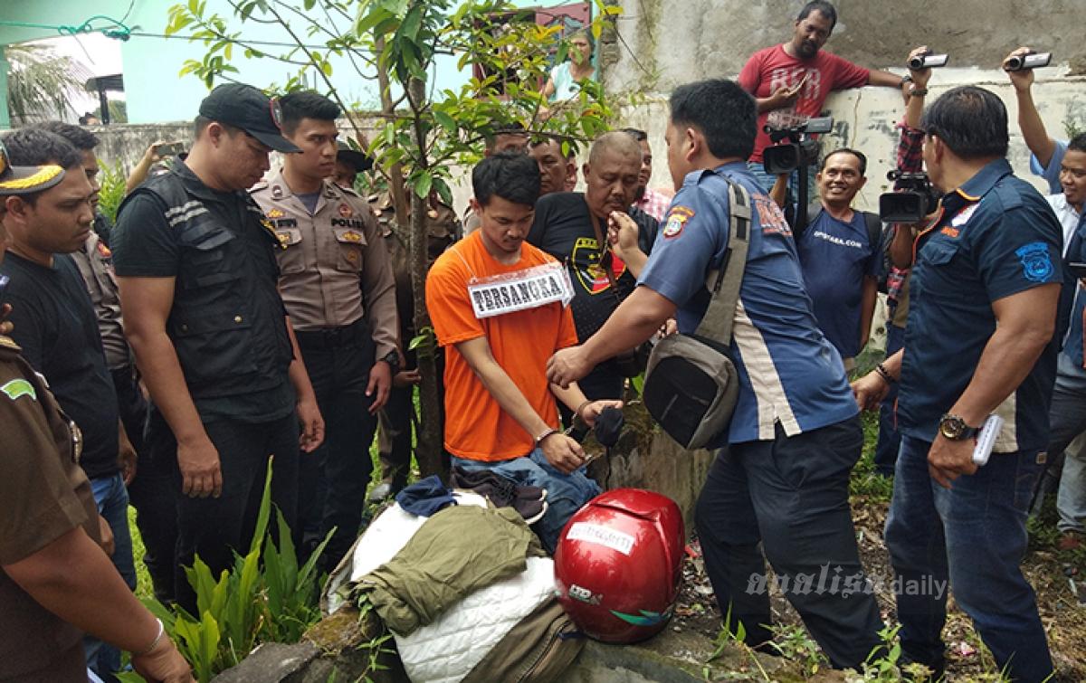 Fakta Baru, Pembunuh Hakim Jamaluddin Bakar Beberapa Barang Bukti