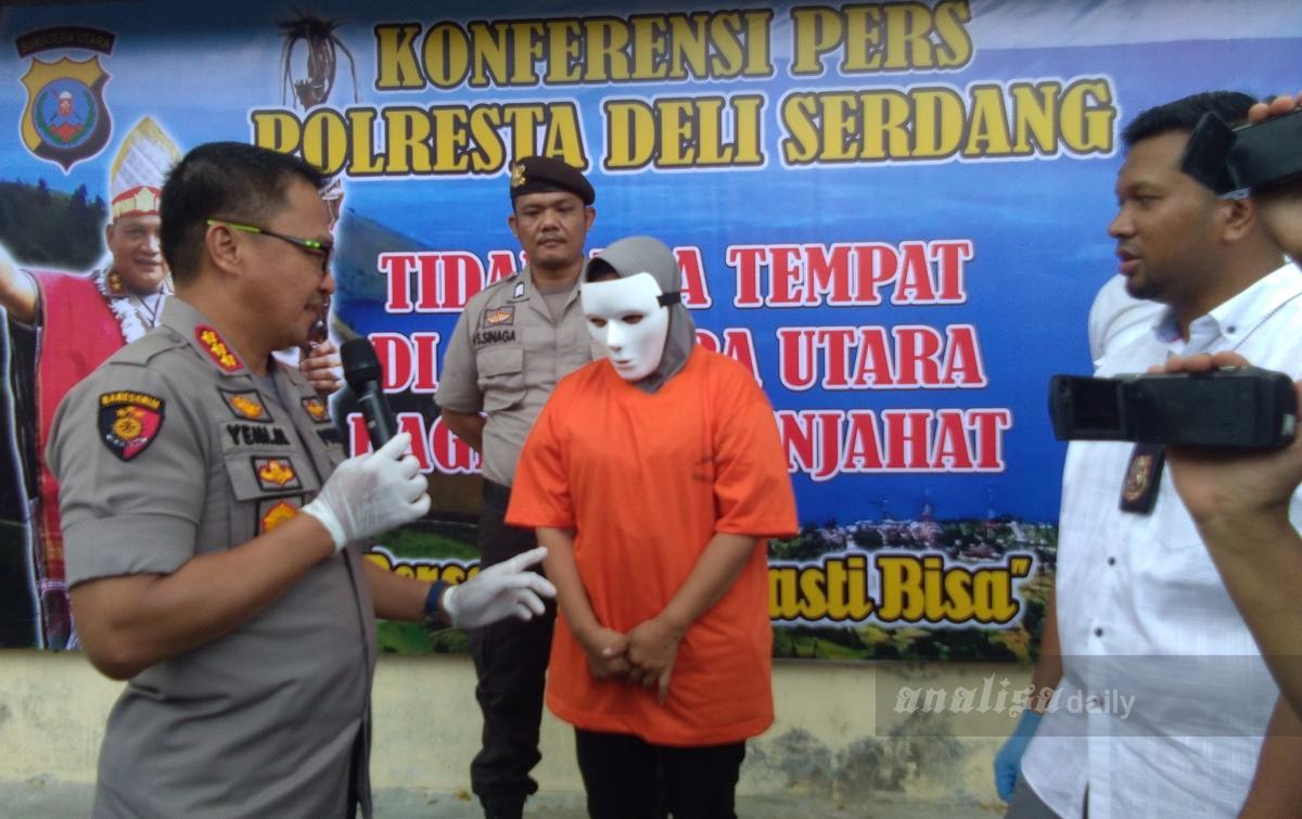 Polresta Deliserdang Tangkap Pelaku Perdagangan Manusia