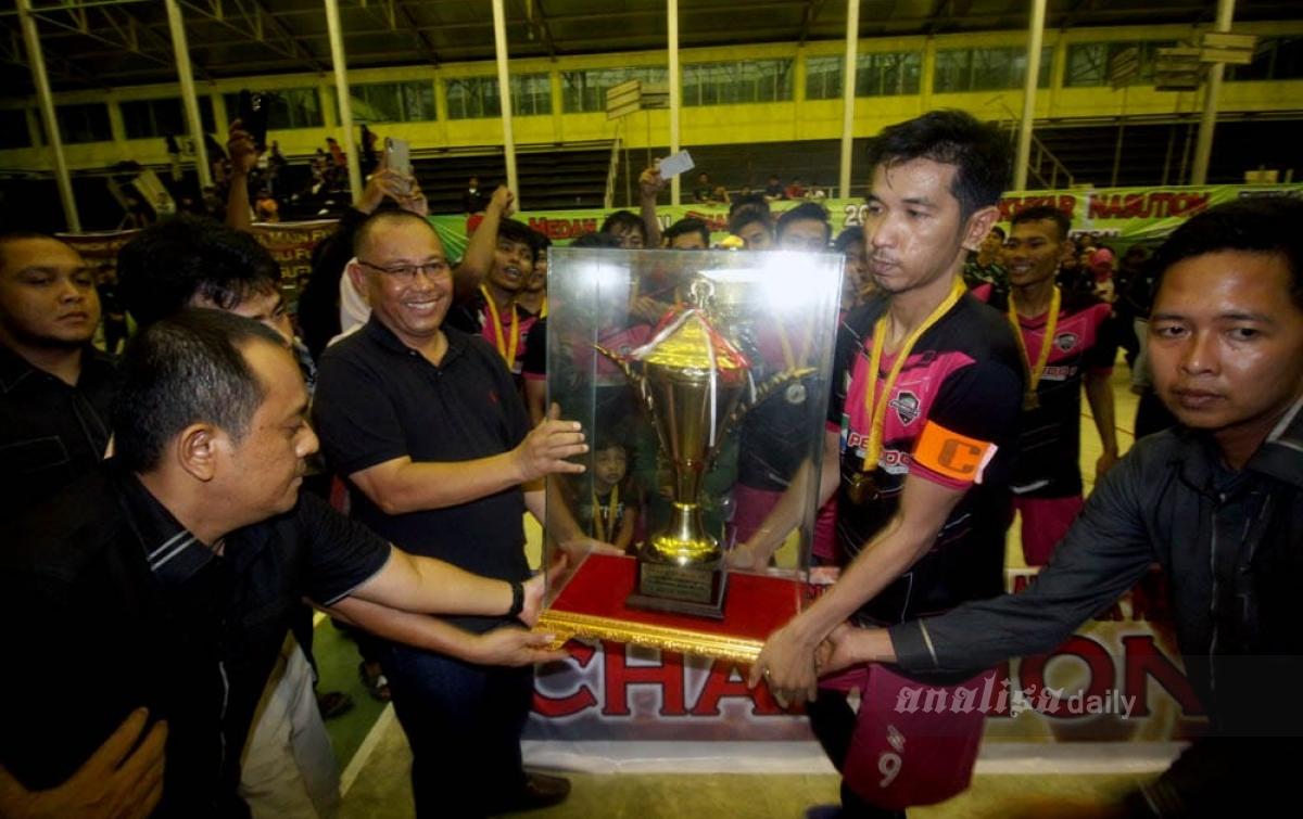 Tahun Ini Pemko Medan Akan Gelar Sembilan Turnamen Futsal