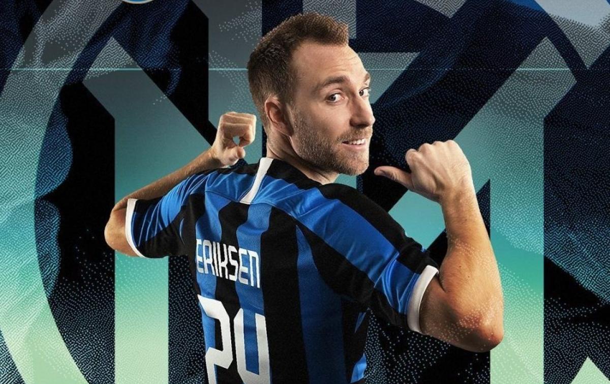 RESMI: Christian Eriksen Gabung Inter Milan