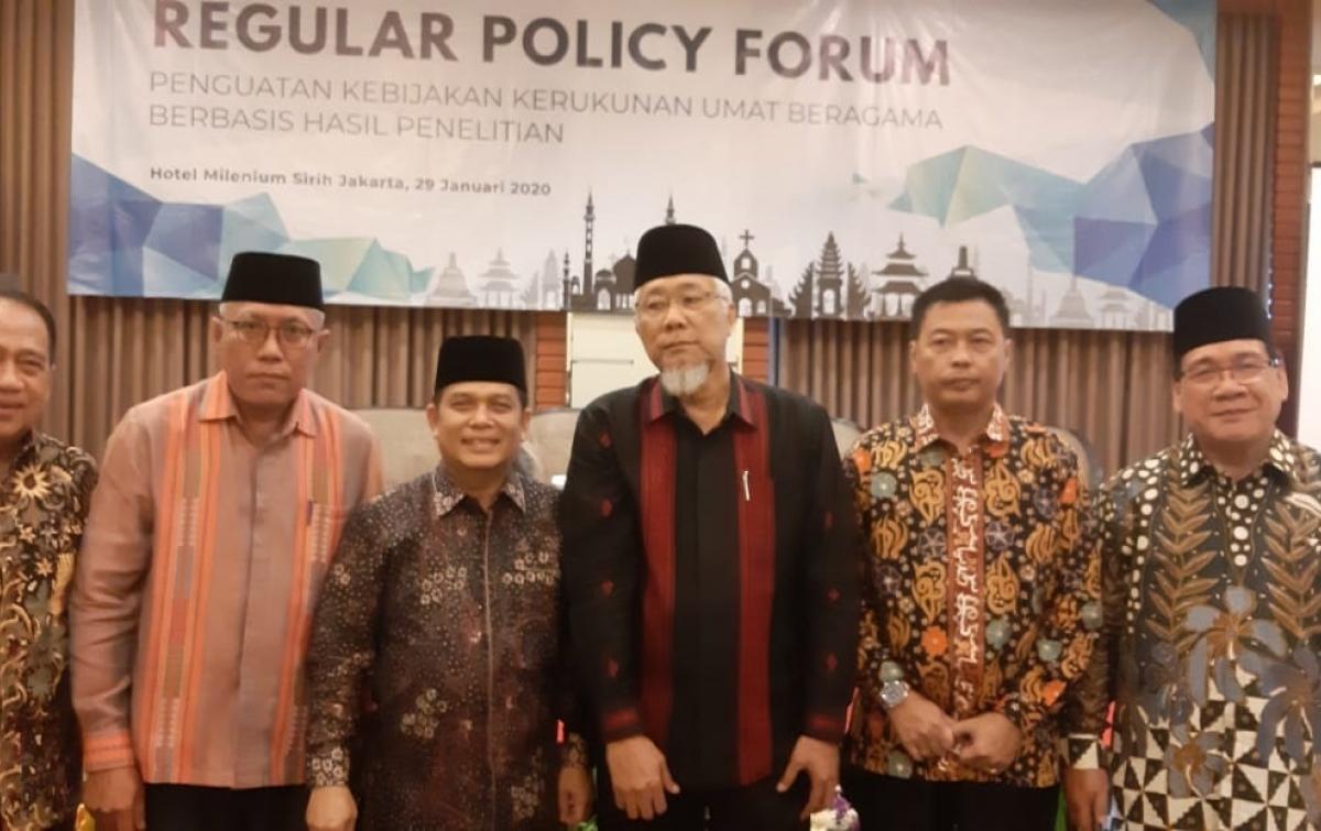 Kemenag Sumatera Utara Hadiri Regular Policy Forum