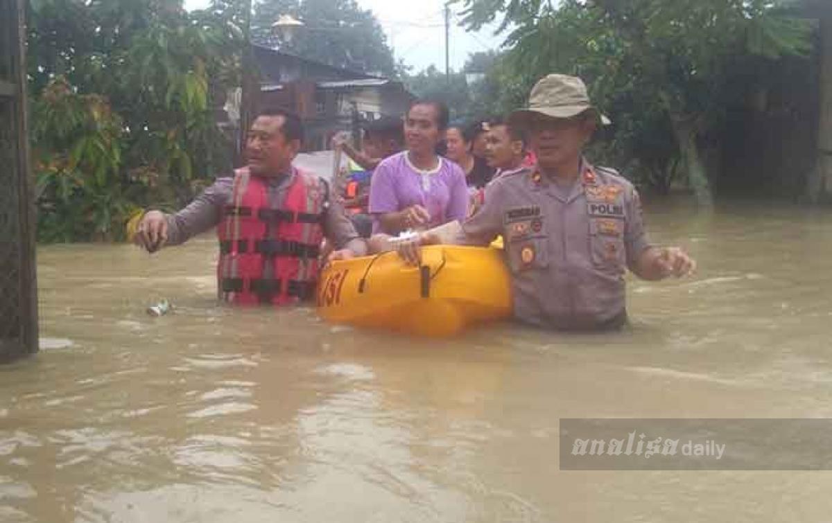 Banjir Melanda Sebagian Wilayah Deli Serdang
