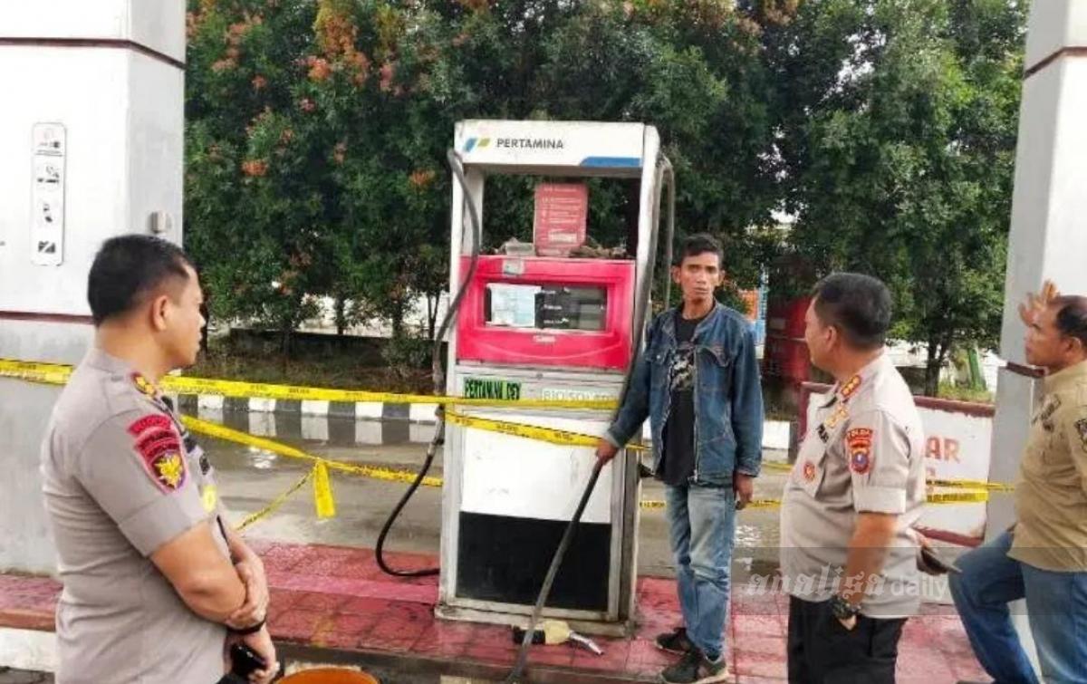 Pertamina Jatuhkan Sanksi Kepada SPBU di Hamparan Perak
