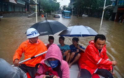 Banjir Jakarta, Sejumlah Ruas Tol Ditutup Sementara