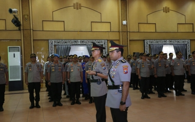 Kombes Pol Jhonny Edison Isir Jabat Kapolrestabes Medan
