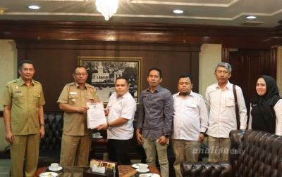 Jelang Pilkada 2020, Bawaslu Kota Medan Kunjungi Pemko Medan