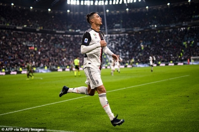 Cetak Hat-trick, Cristiano Ronaldo Unggul Atas Messi