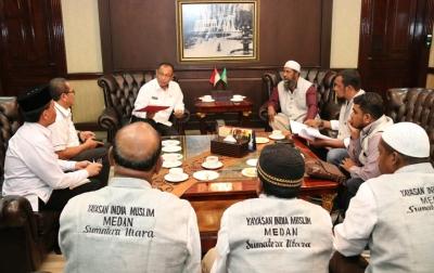 Pemko Medan Diminta Bantu Urus Sertifikat Wakaf Masjid Jamik