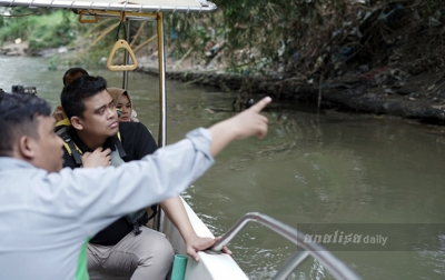 Susuri Sungai Deli, Bobby Nasution Ingin Kembalikan Identitas Medan