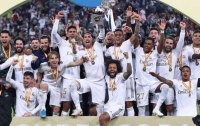 Real Madrid Juara Piala Super Spanyol 2020