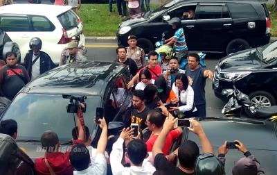 Foto: Suasana Rekonstruksi Pembunuhan Hakim Jamaluddin
