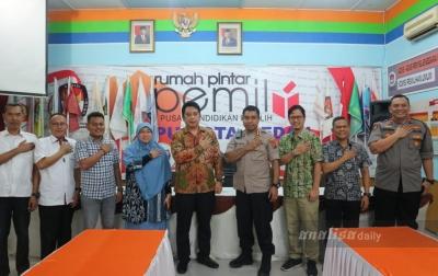 Berkunjung ke KPU Medan, Kapolrestabes Siap Kerjasama Sukseskan Pilkada 2020