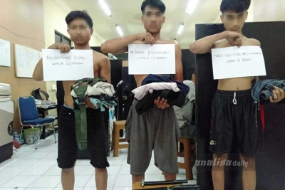 Polsek Medan Timur Tangkap Tiga Komplotan Begal Sadis