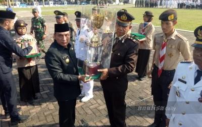 Bangun Purba Dinobatkan Sebagai Kecamatan Terbaik di Sumatera Utara