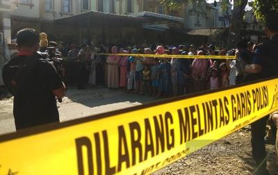 Rekonstruksi Pembunuhan Hakim Jamaluddin Jadi Tontonan Warga