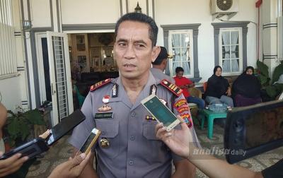 Personel Gabungan Kawal Rekonstruksi Pembunuhan Hakim Jamaluddin