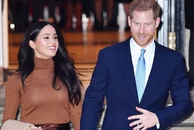 Harry dan Meghan Tidak Lagi Gunakan Gelar 'Yang Mulia'