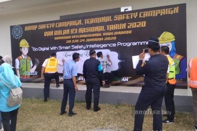 Kampanye Keselamatan Penerbangan di Bandara Kualanamu
