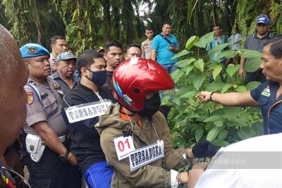 Polisi Gelar Rekonstruksi Tahap III Pembunuhan Hakim Jamaluddin