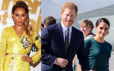 Mel B Kecewa dengan Keputusan Pangeran Harry dan Meghan Markle