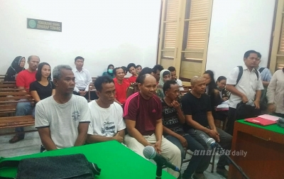 Lima Kurir Sabu Dijatuhi Hukuman Mati