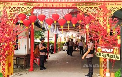 Jaga Perayaan Imlek, Polda Sumatera Utara Turunkan 2.473 Personel
