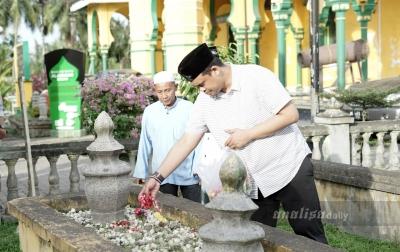 Bobby Nasution Kunjungi Masjid Al Osmani di Medan Labuhan