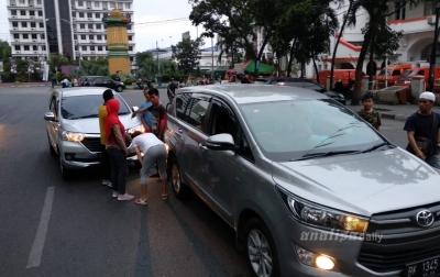 Akhir Pekan Tanpa 'Car Free Day', Kawasan Lapangan Merdeka Rawan Kecelakaan