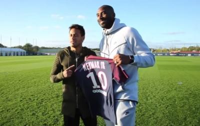 Selebrasi Penghormatan Neymar Untuk Kobe Bryant