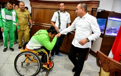 Atlet Penyandang Disabilitas Diharap Ukir Prestasi