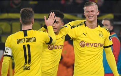 Haaland Ciptakan Rekor di Bundesliga, Cetak 5 Gol dalam 56 menit