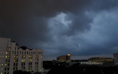 Hujan Lebat, Petir Diperkirakan Terjadi di Sumatera Utara