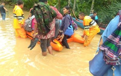 Korban Jiwa Akibat Banjir di Tapanuli Tengah Sudah Tujuh Orang