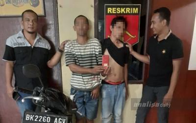Dua Pencuri Ponsel di Tamora Tertangkap Saat Beraksi