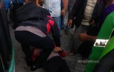 Seorang Polisi Diduga Melompat dari Jembatan Layang