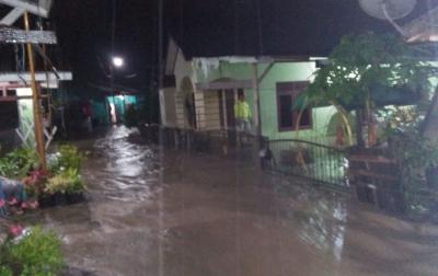 Puluhan Rumah di Padang Sidempuan Tergenang Air