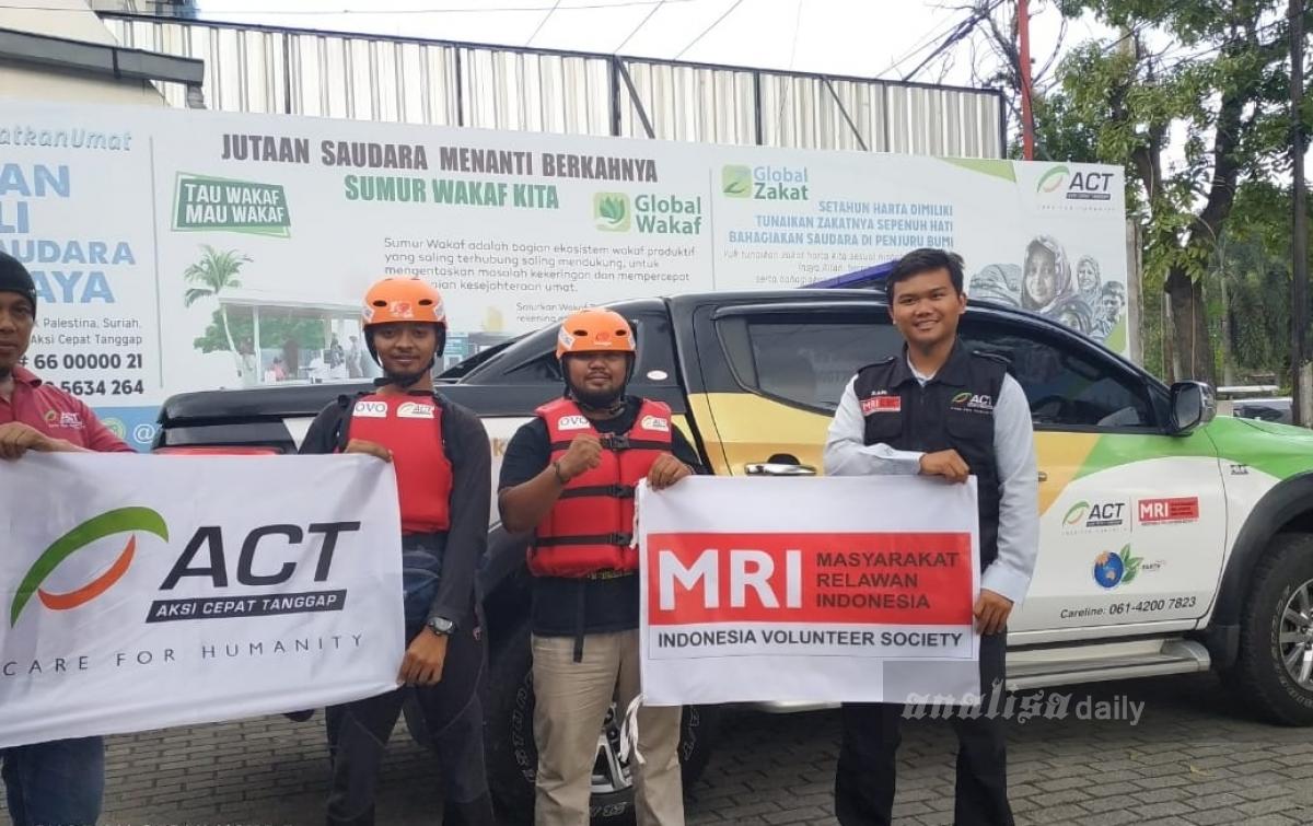 Organisasi Kemanusiaan Kirim Bantuan untuk Korban Banjir Tapteng