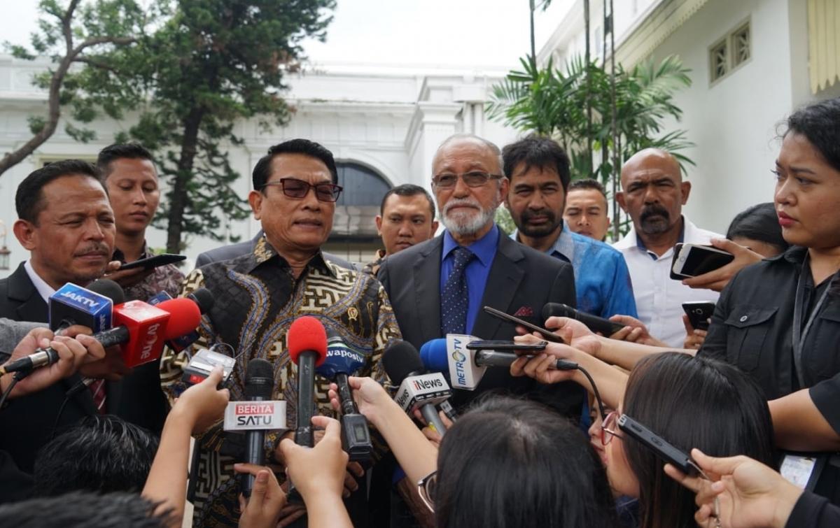 Wali Nanggroe Temui Presiden Bahas Masalah Aceh