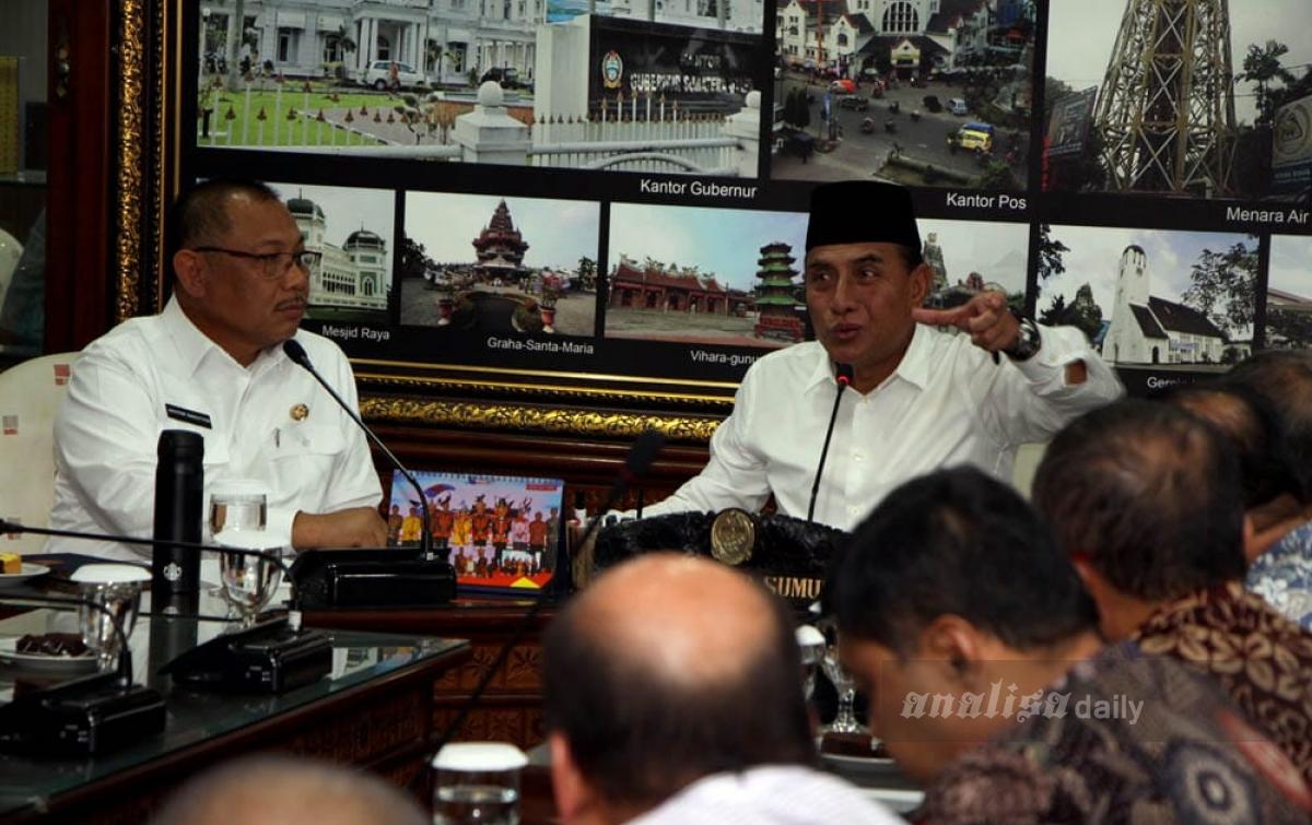 Penataan Heritage Kesawan, Gubsu Mau Ikut 'Bikin Cantik Medan'