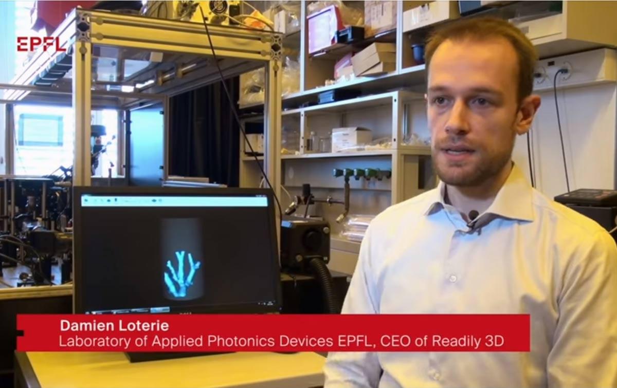 Peneliti di Lausanne Kembangkan Percetakan 3D